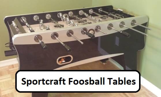 Sportcraft Foosball Table Find Which Are Their Best