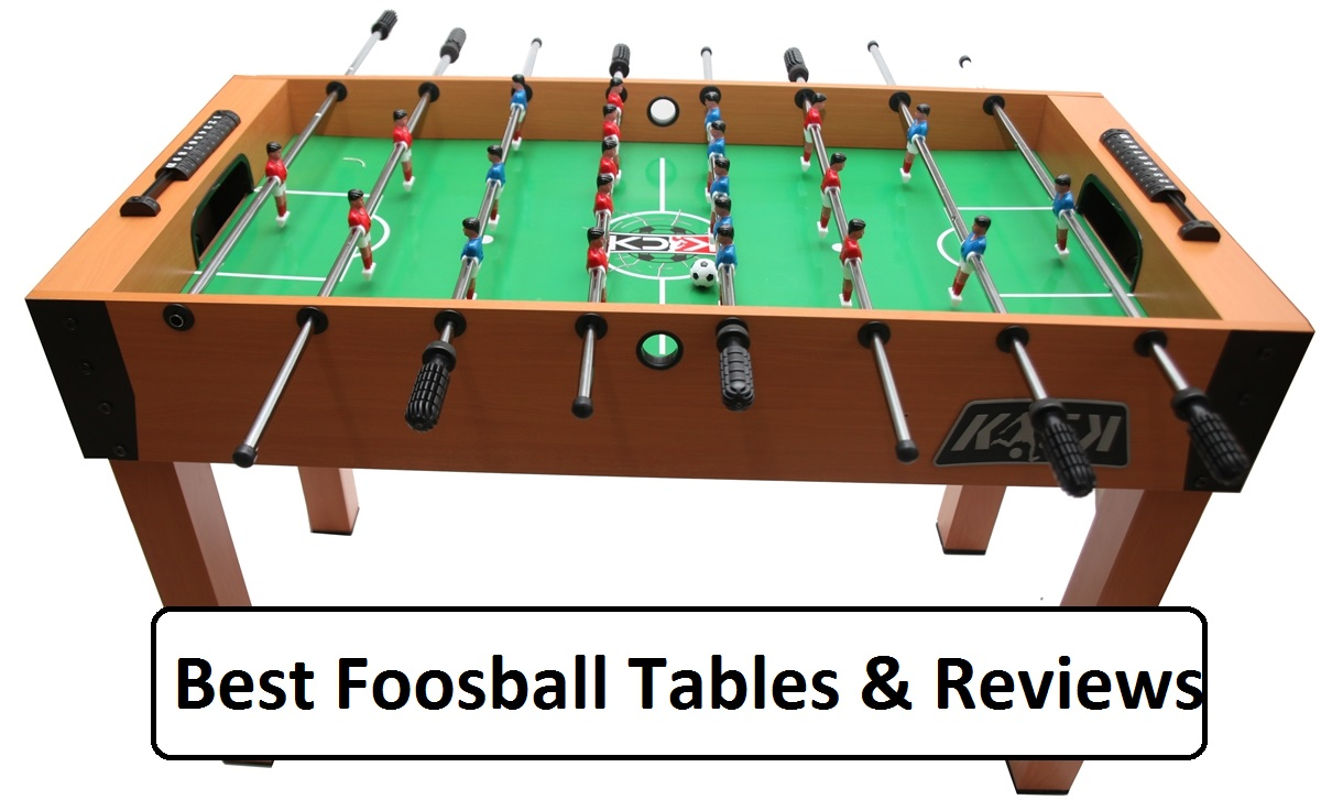 best foosball table & reviews