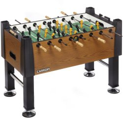 carrom signature 55in foosball table
