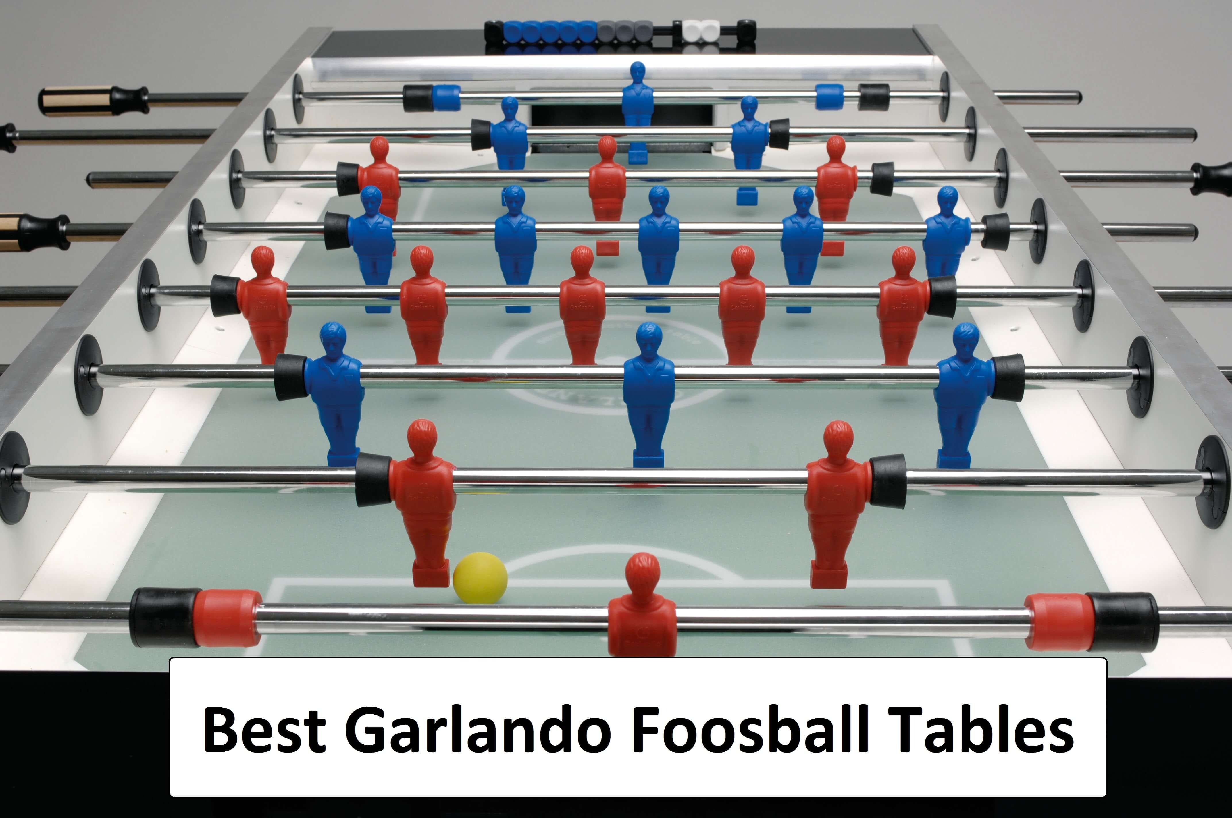 Top Garlando Foosball Table u2013 Find out which is best & KICK Foosball Tables - Find Out which are Good and Why!