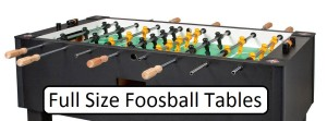 full size foosball table