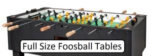 full size foosball table