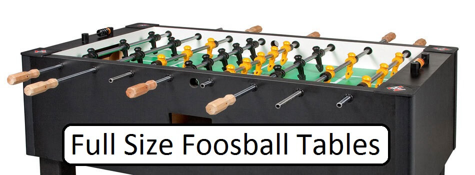 What Is A Good Full Size Foosball Table - How much does a foosball table cost