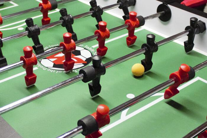 warrior foosball table game