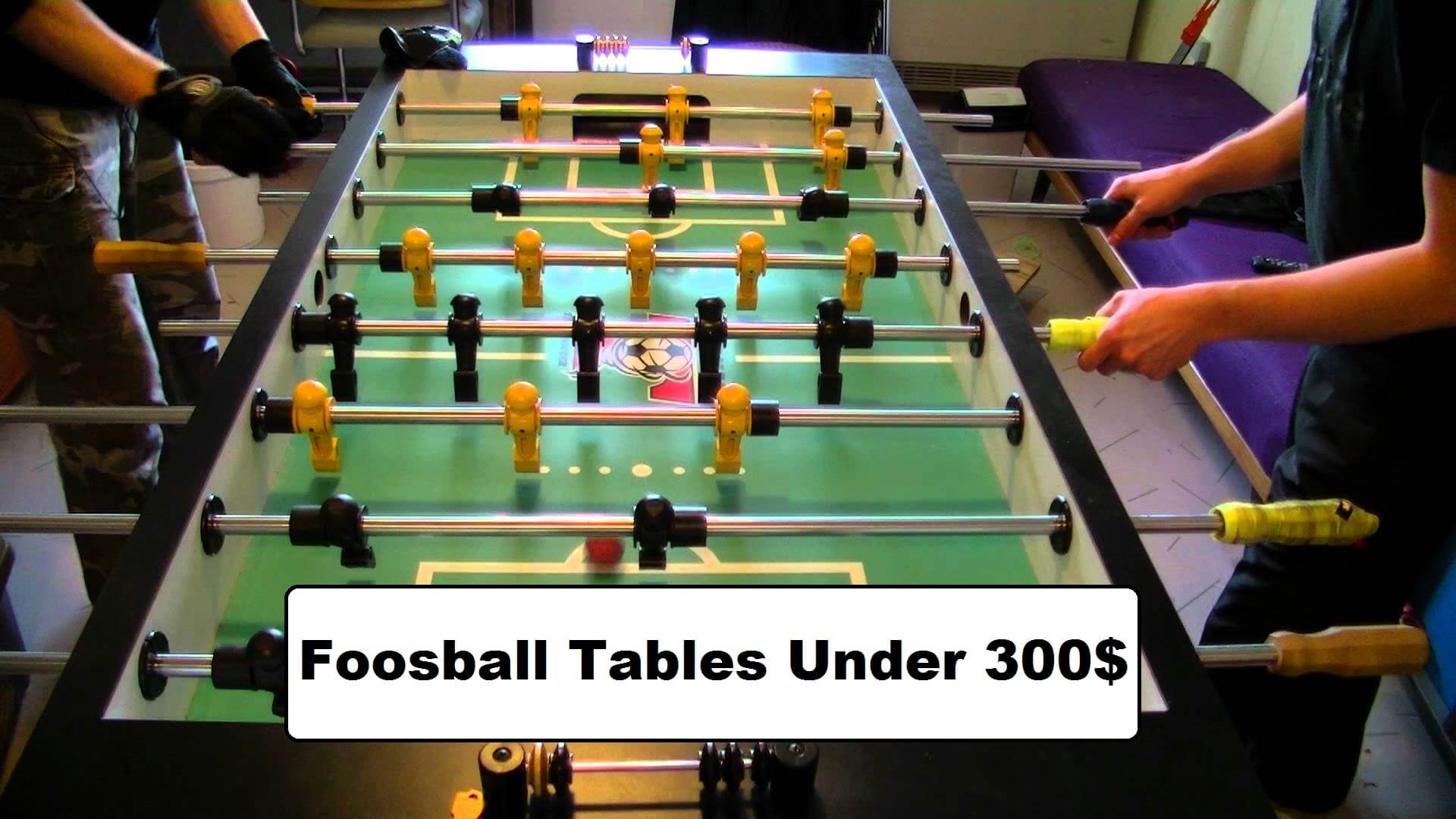 Best Foosball Tables U0026 Reviews 2018