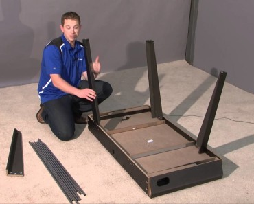 how to set up a fososball table