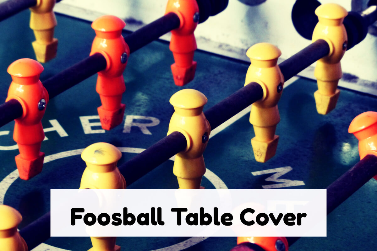 foosball table cover