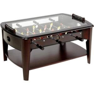 barrington wood foosball coffee table