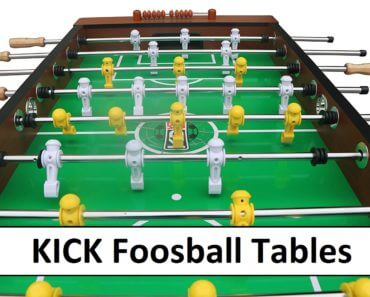 kick foosball tables
