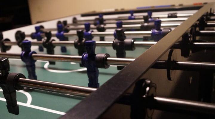 Foosball Table Setup