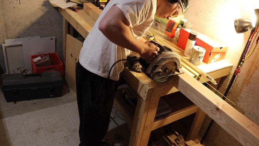 making foosball table legs